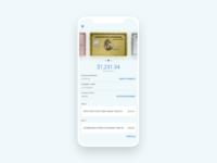 #dailyui#006 Bank Card Profile