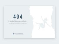 #dailyui#008, 404 Page