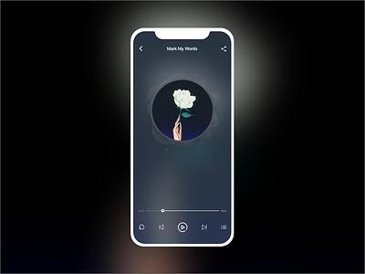 #dailyui#009 Music Player dribbble dailyui uidesign ux interface design icon app ux design app ui design