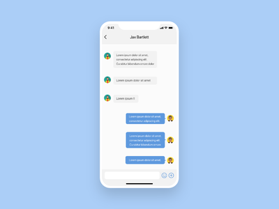 #dailyui#013 Direct Messaging adobe xd ux uidesign dribbble dailyui icon app interface design ux design app ui design