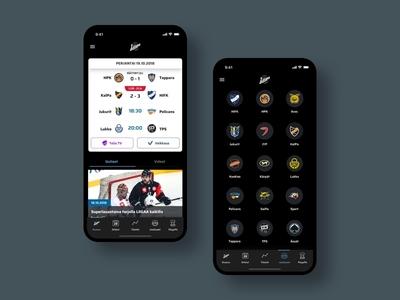 Liiga - Hockey App