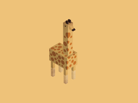 Collection of animals: giraffe