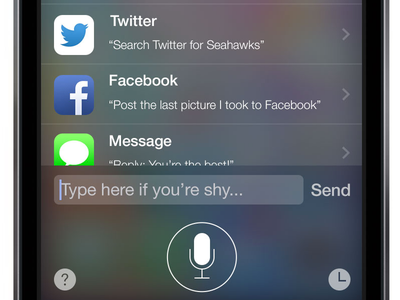 Siri Text and History Concept siri ios 7 iphone ui ux concept mobile ai interface