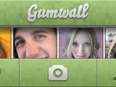 Gumwall App app ui green retina iphone ios