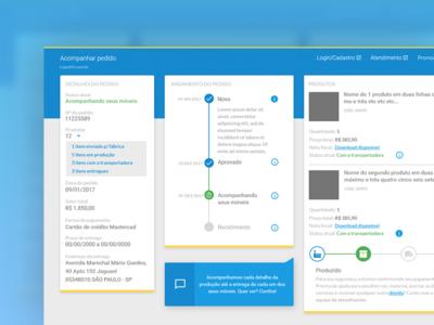 Order Tracking App | LojasKD