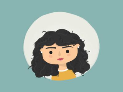 selfie illustration