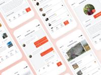 Climbing app with Social Media aspects