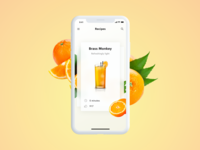 Cocktail app – Brass Monkey