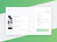 Credit Card Checkout – Daily UI Challenge #002