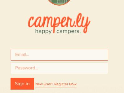 Camperly camp summer bunk login register camperly sign up outdoors form