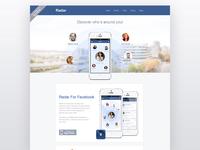 Radar For Facebook website