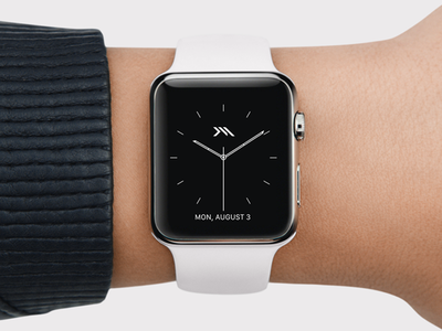 Watch face logo personal watch apple watch face