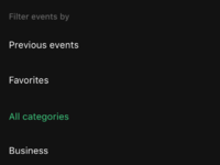 Categories   night mode