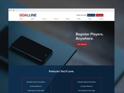 Registration page design mobile layout ui ux flat clean minimal icon registration callout