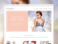 Dress shop web design