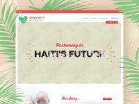 Charity non profit website design