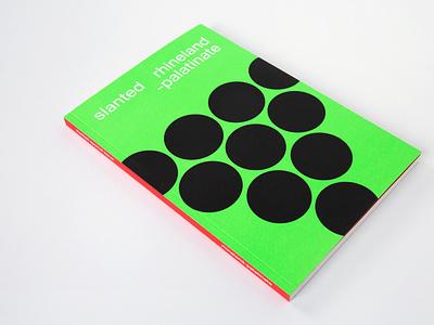 Slanted Special Issue Rhineland Palatinate interview magazine graphic design design slanted