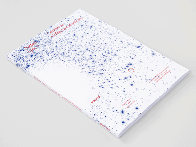 Ou(te)r Space: Course as Collective Manifesto By Jeremiah Chiu magazine graphic design design typography slanted