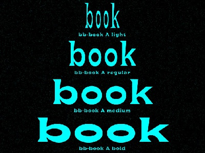 bb-book A and bb-book contrasted