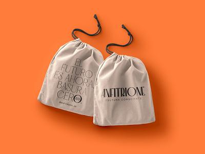 Anfitrione - Sustainable Packaging branding agency logo branding and identity brand brand design design colors branding brand identity