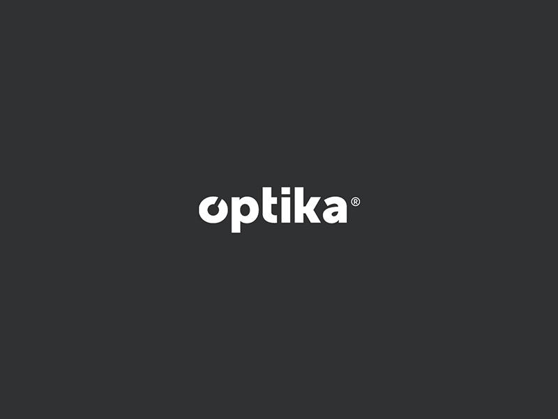 Optika logo branding