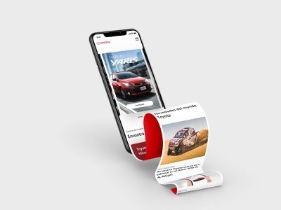 Toyota Landing Mobile car web iphone responsive website design responsive design responsive web design responsive website responsive uidesign design landing page design landing page landing design landingpage landing uiux ux mobile ui mobile web automobile