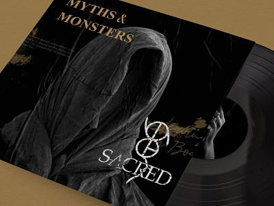 SACRED Album layouts textures graphic design album art