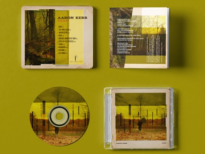 CD Layout For Aaron Kerr Odin textures design