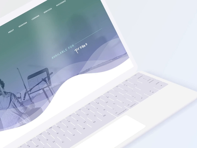 Hello Cello Website music layout design website
