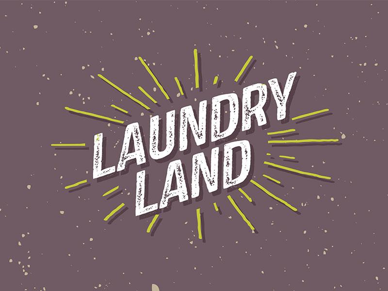 Laundry Land Logo logo