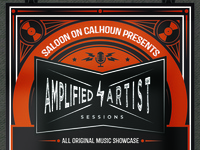 Amplified Artist Sessions Poster
