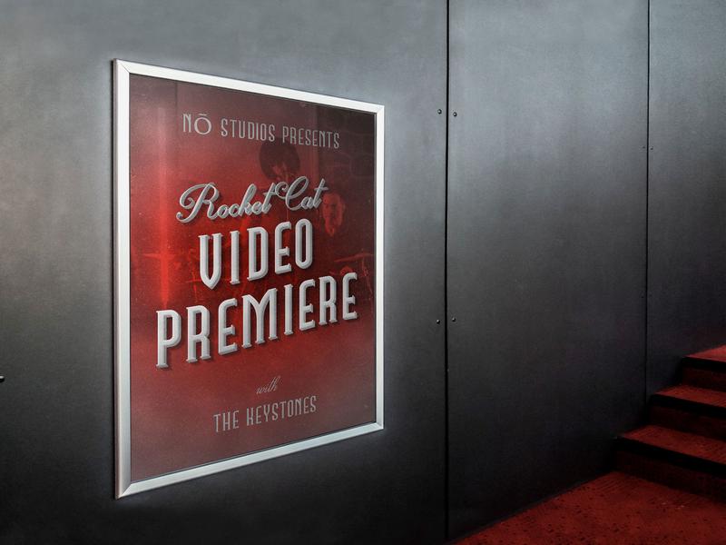 Video Premiere Promo retro video movies