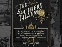 SACRED Southern Charm Tour Poster