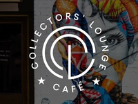 Collectors  Lounge Cafe  - Logo Design
