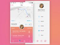 Activity Tracking App / UI Challenge