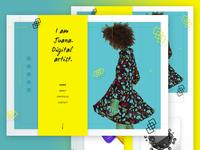 Landing Page - DIgital Artist