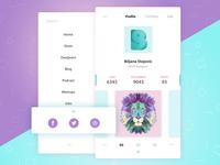 User Profile / Daily UI