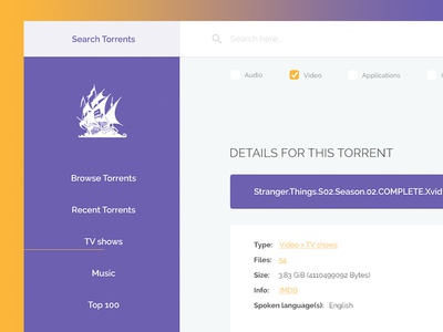 Torrent designs, themes, templates and downloadable graphic elements