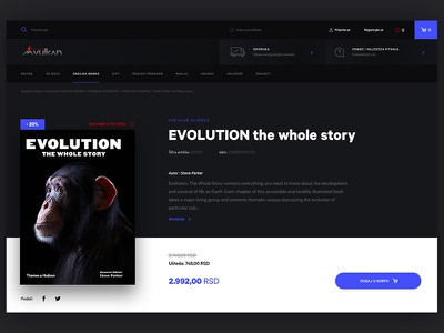 UI Challenge 002 - Book store product page book store product page books book