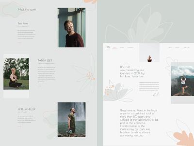 Levelsix - full page concept branding ui yoga