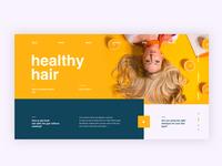 Healthy Hair Concept
