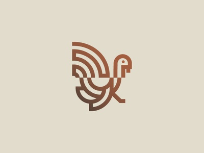 Turkey Icon thanksgiving branding icon design icon
