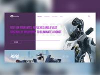 Robo Recall UI