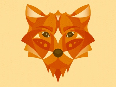 My Geometric Fox illustration character geometric geometry animal fox
