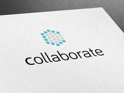 Collab c minimalistic circle logo