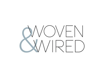 Woven & Wired Logo by Katherine Weis - Dribbble