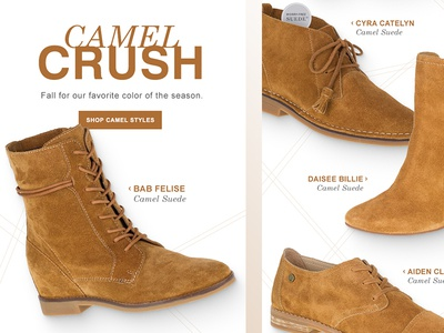 Camel Crush Email Design
