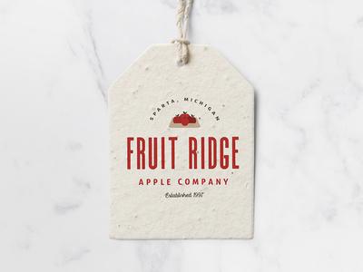 Fruit Ridge Apple Co. Logo Concept #1