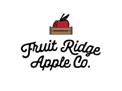 Fruit Ridge Apple Co. Logo Concept #2
