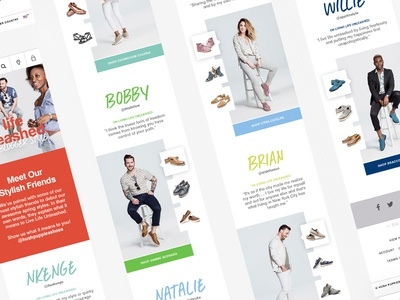 Hush Puppies Style Unleashed Landing Page Mobile